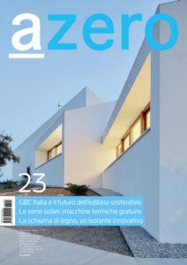 """23.06.2017 – Italiens renommierte Fachedition """"azero"""" publiziert innovatives Projekt von pape oder semke ARCHITEKTURBÜRO"""