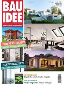 "BAUIDEE, März/ April - Nr. 2/ 2019, ""Sonnenverwöhntes Sechseckhaus"""