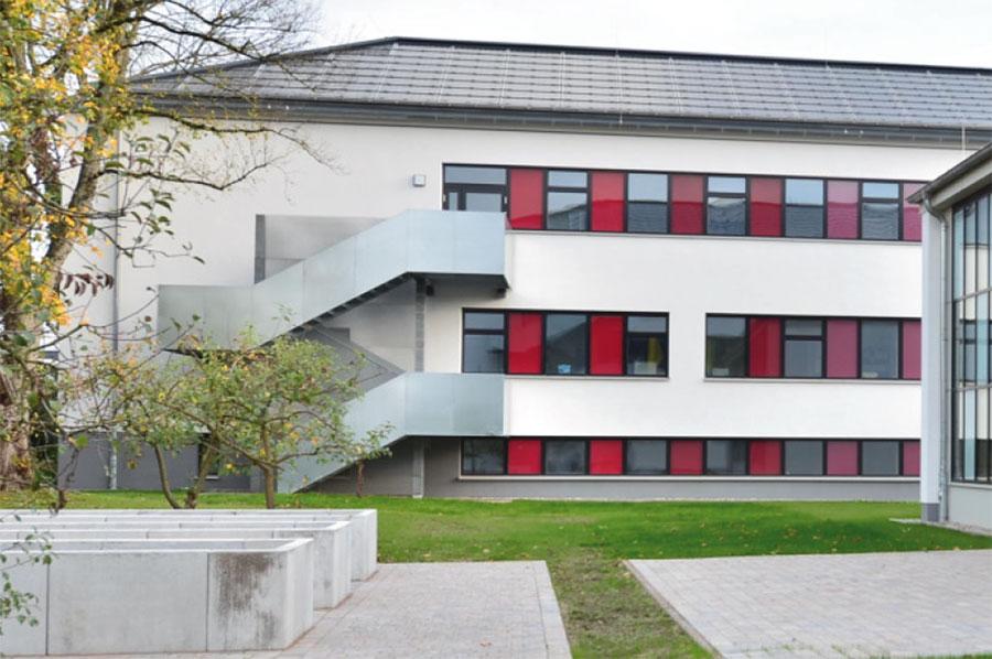 FFB-Detmold, Gebäude 2, Rettungsweg