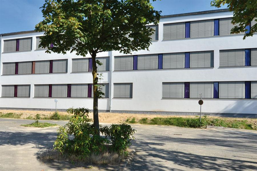 FFB-Detmold, Gebäude 3, Nord-West