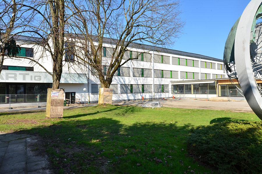 FFB-Detmold, Gebäude 3, Kleine Turnhalle