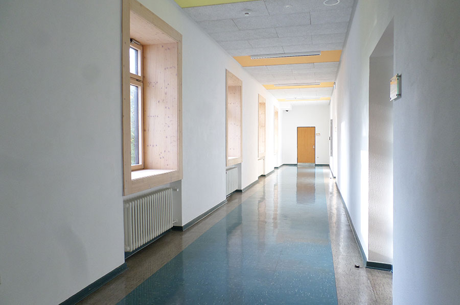 FFB-Detmold, Gebäude 3, Flur