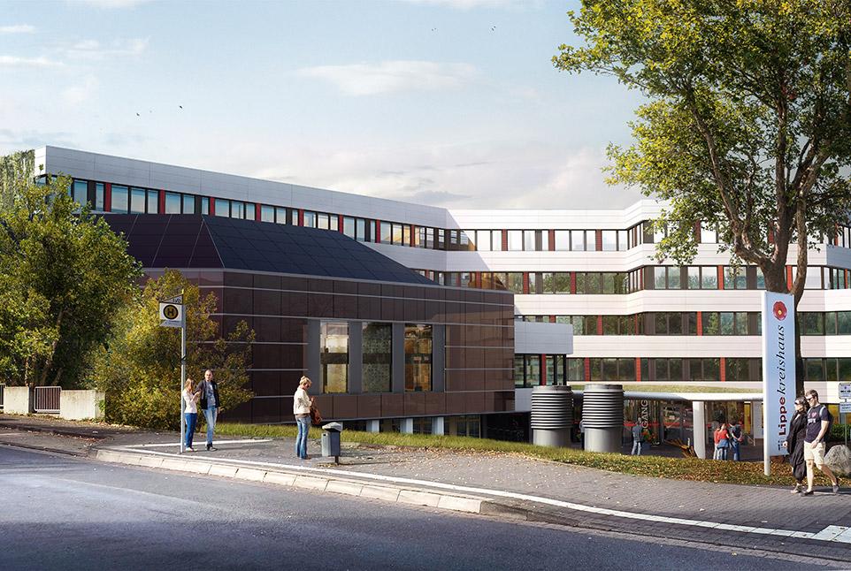 Energetische Sanierung Kreishaus des Kreises Lippe in Detmold
