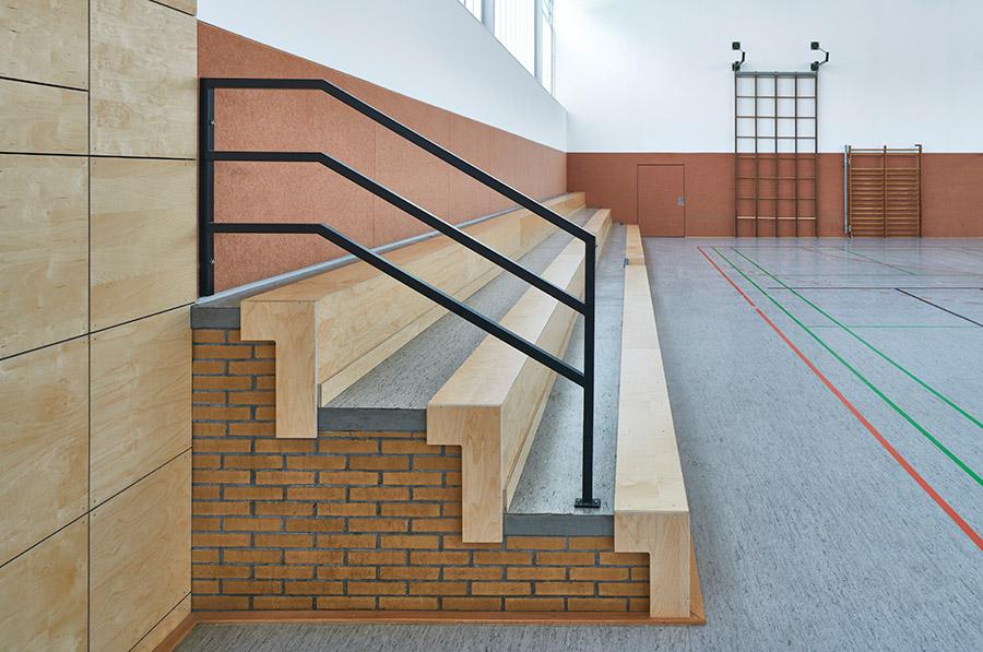 Energetische Sanierung und Umbau Mehrzweckhalle Dörentrup