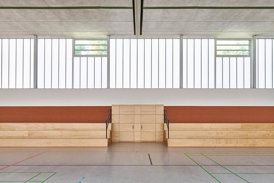 Sanieriung Mehrzweckhalle Dörentrup. Foto: Christian Eblenkamp