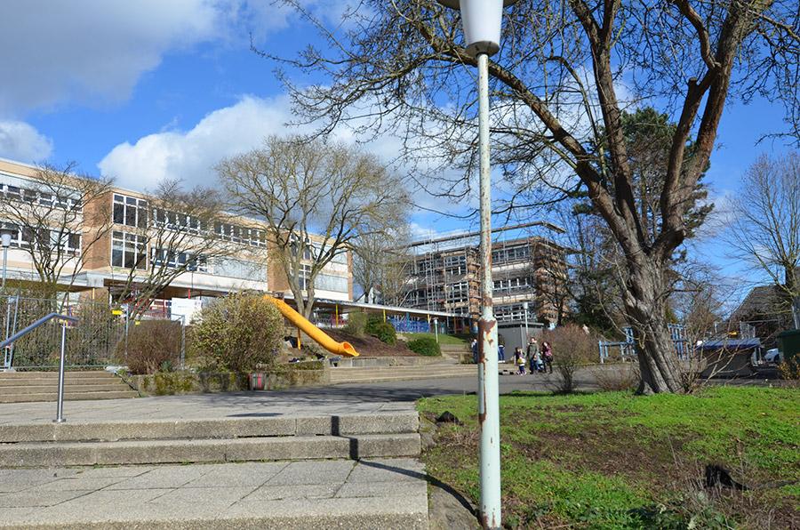 Energetische Sanierung und Innensanierung einschl. Brandschutzmaßnahmen der Wilhelm- Leuchner Schule in Gießen