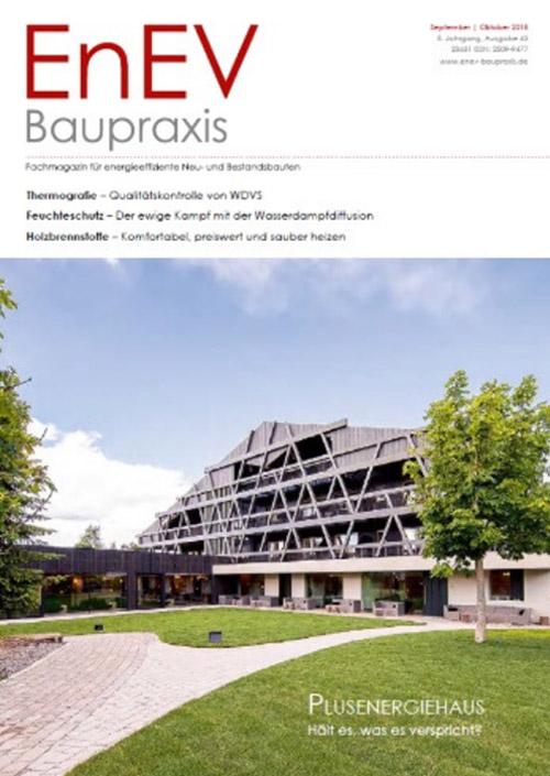 EnEV Baupraxis 8. Jahrgang, Ausgabe 43