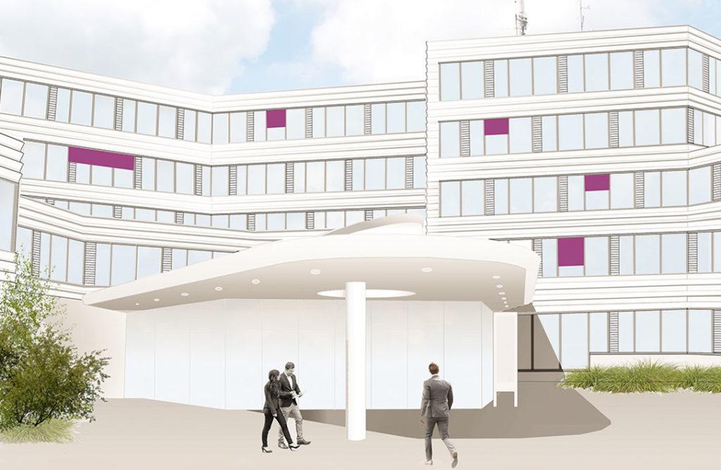 pape oder semke erhält den Auftrag zur Sanierung des Kreishauses in Detmold.