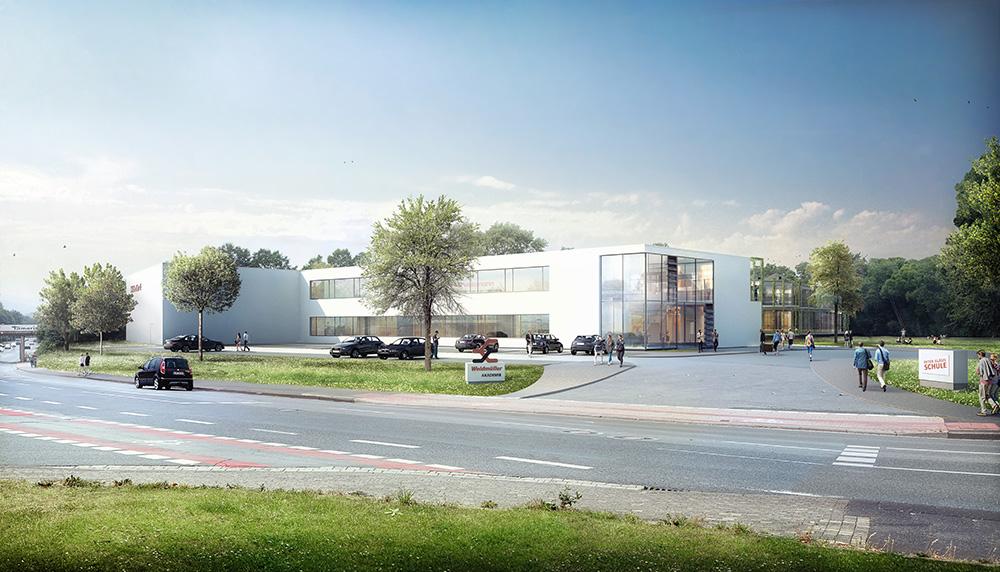 Auftrag für Neubau der Peter Gläsel Schule erhalten.