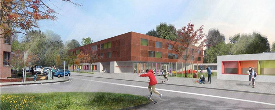 Neubau Schulcampus Esch-Wobrécken in Luxemburg