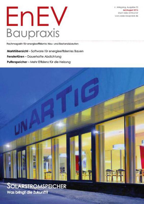 EnEV Baupraxis 6. Jahrgang, Ausgabe 30