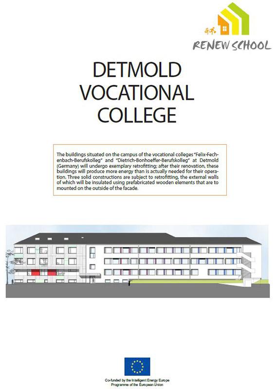 Renew-School: Best-Practice Beispiel Sanierung Detmolder Berufskollegs zur Plusenergieschule