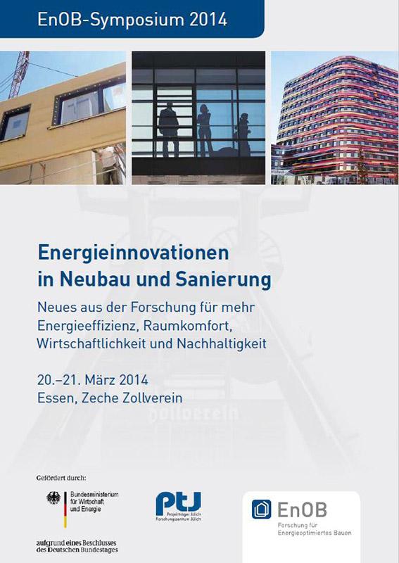 Tagungsband EnOB-Symposium 2014, Herausgegeben am 20.03.2014
